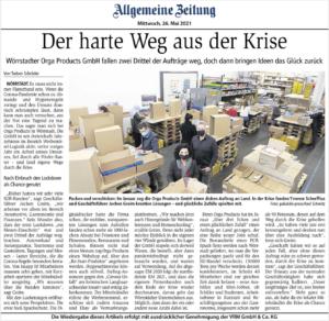 ORGA Allgemeine Zeitung Presse